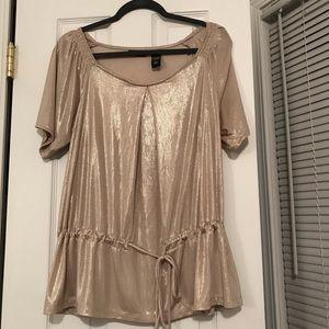 Dressy gold shirt